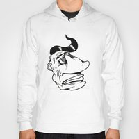 grease Hoodies featuring More Than a Touch of Grease by Adam Metzner