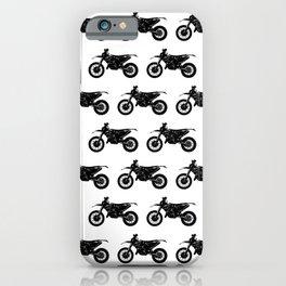Dirt Bikes iPhone Case