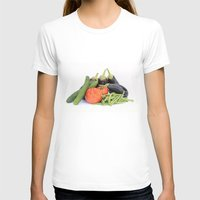 vegetables T-shirts featuring Vegetables together by Carlo Toffolo