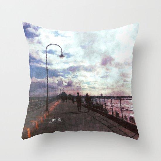 Dreamers of Vanilla sky Throw Pillow