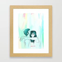 my room of happiness Framed Art Print