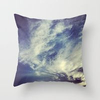 mexican Throw Pillows featuring Mexican sky by OPPhotos - where poetry meets photos