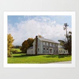 Stone House in Starksboro Art Print