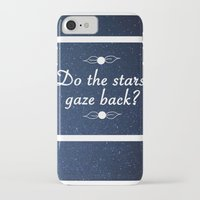 neil gaiman iPhone & iPod Cases featuring Neil Gaiman Quote 1 by Hannah Sutker