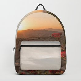 Sunset Over Rose Valley, Cappadocia Backpack