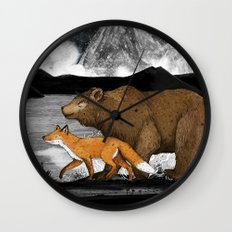 Nightwalkers Wall Clock