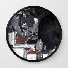 This Way Home Wall Clock