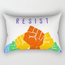 Resist (Pride) Rectangular Pillow