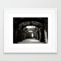 theatre Framed Art Prints featuring Theatre by Rainer Steinke