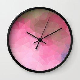 """""""Chocolate raspberry shake"""" Wall Clock"""