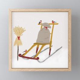 Christmas Framed Mini Art Print