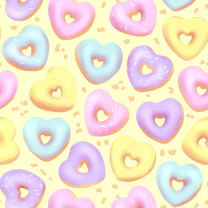 I Heart Donuts Leggings