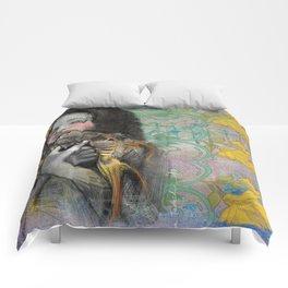One wish Goldfish Comforters