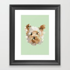 Terrier  Framed Art Print