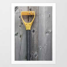 Yellow Handle Art Print