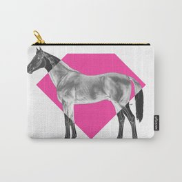 Horse Diamond Carry-All Pouch