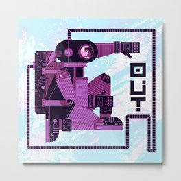 OUT (variation) Metal Print