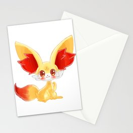 Fennekin Stationery Cards
