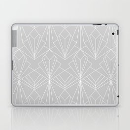 Art Deco on Grey Laptop & iPad Skin