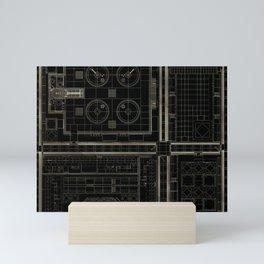 plan study #2 Mini Art Print