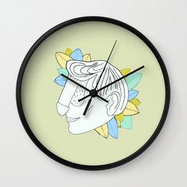 Dickface V Wall Clock