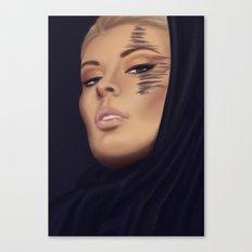 Golden Night Canvas Print