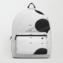 The Worlds (White) Backpack