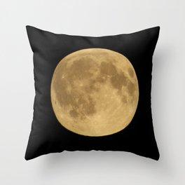Full Night Moon Throw Pillow