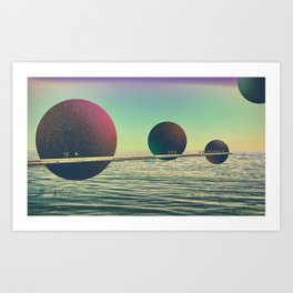 Travel_02 Art Print