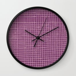 Left - Lilac Wall Clock