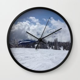 Frost Wall Clock