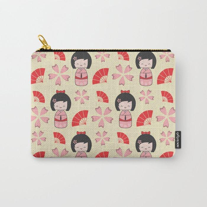 Mini Geisha Carry-All Pouch