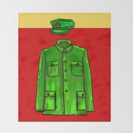 Chairman Mao Throw Blanket