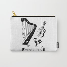 Venezuelan Tipical Music Instruments Carry-All Pouch