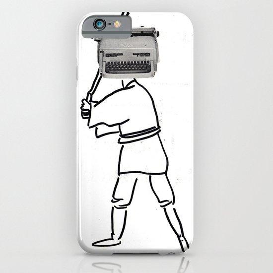 luke typewriter iPhone & iPod Case