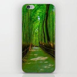 Bamboo Trail iPhone Skin