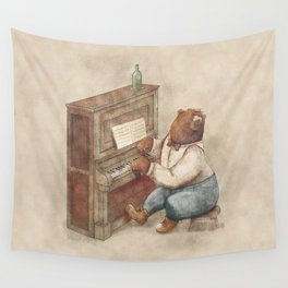 The Pianist Wall Tapestry