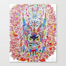 Mystic Lion Canvas Print