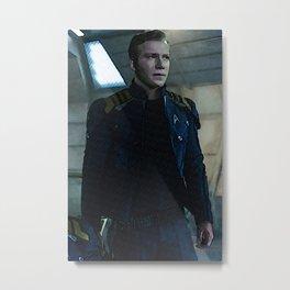 Kirk (TOS) in Kelvin uniform Metal Print