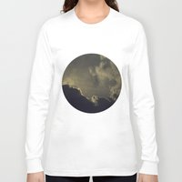 kansas Long Sleeve T-shirts featuring Over Kansas by josemanuelerre