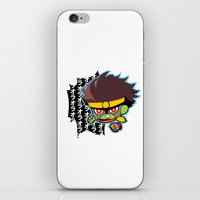 jjba iPhone & iPod Skins featuring Star Platinum by cezra