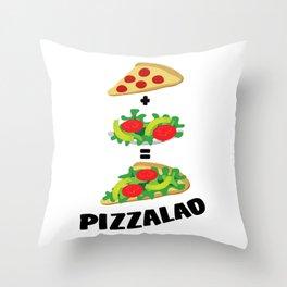 Pizzalad Throw Pillow