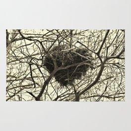 Heart-Shaped Nest Rug