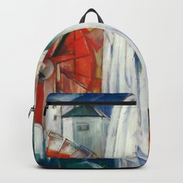 """Franz Marc """"The Enchanted Mill"""" Backpack"""