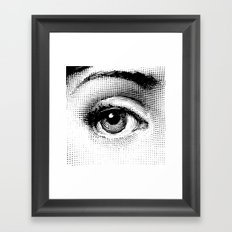 Lina Cavalieri Eye 01 Framed Art Print