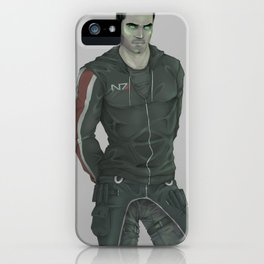 MASS EFFECT: KAIDAN ALENKO SYNTHESIS iPhone Case
