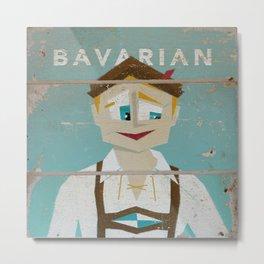 Bavarian Metal Print