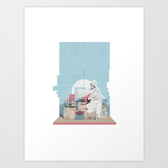 Wind Art Print
