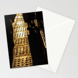Evening shadows on the street at bazaar Stationery Cards
