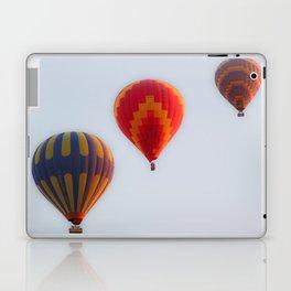 Hot air balloons launching at dawn Laptop & iPad Skin
